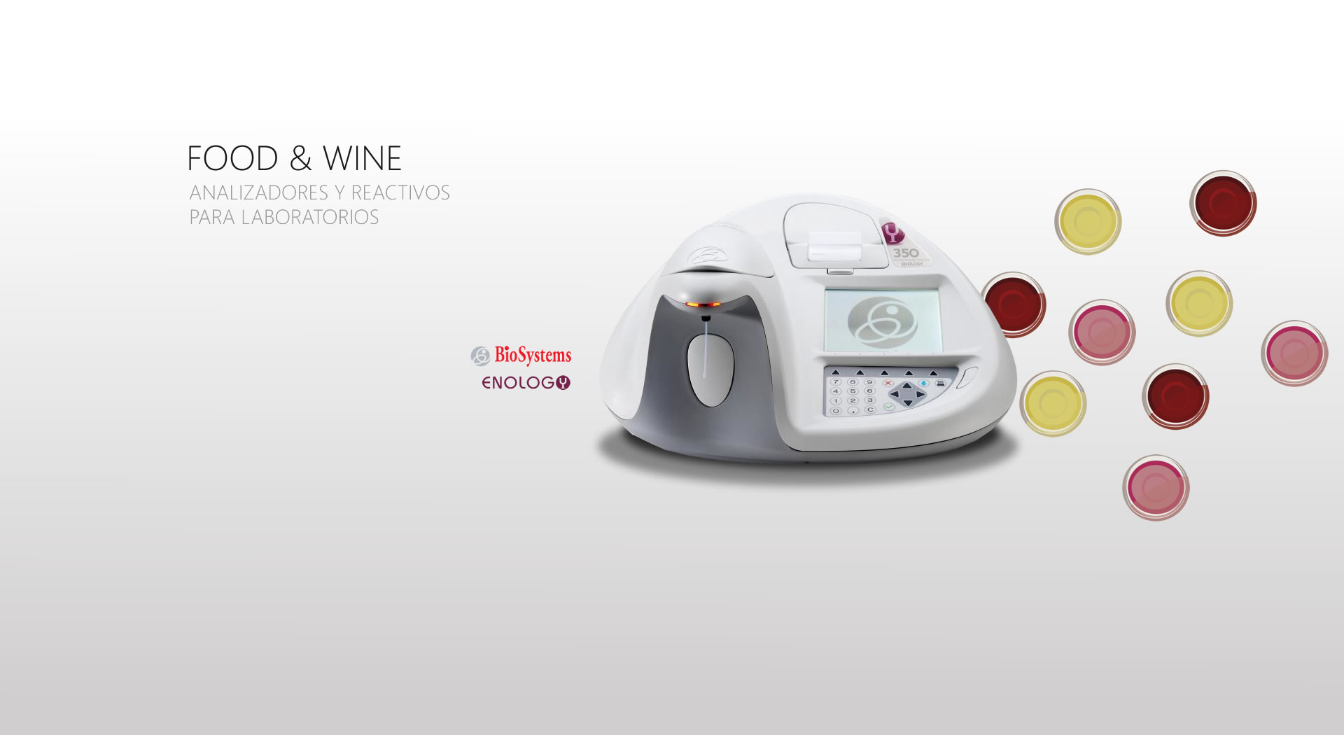 FOOW & WINE: Analizadores y reactivos para laboratorios